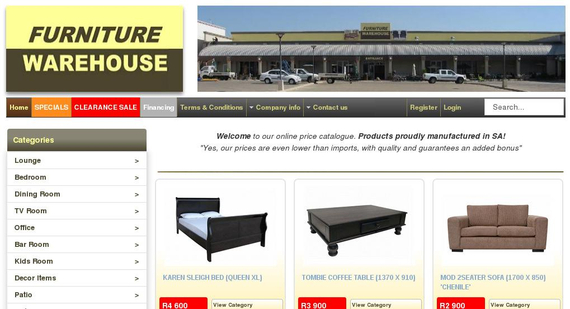 furniture-warehouse.co.za