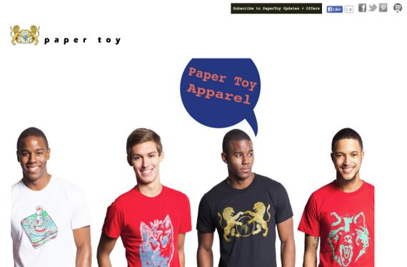 papertoyclothing.com