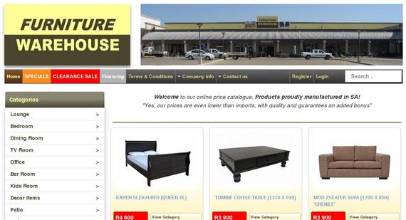 furniture-warehouse.co.za