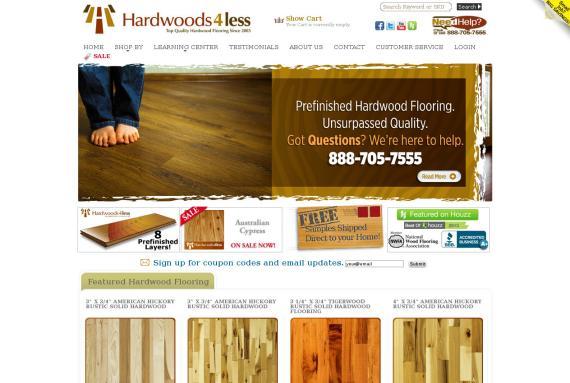 hardwoods4less.com