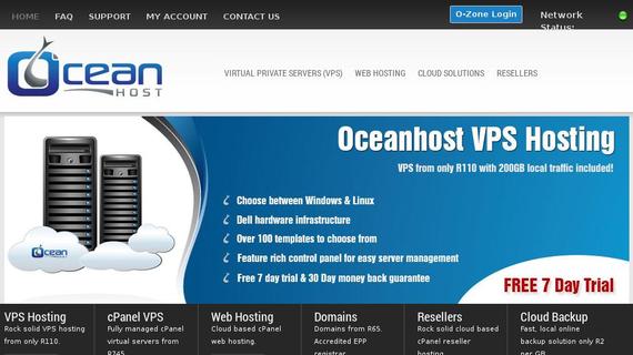 oceanhost.co.za